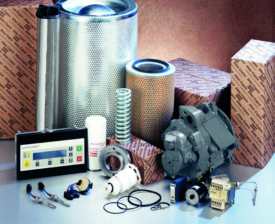 Acof Atlas Copco Oil Free Compressor Spare Parts