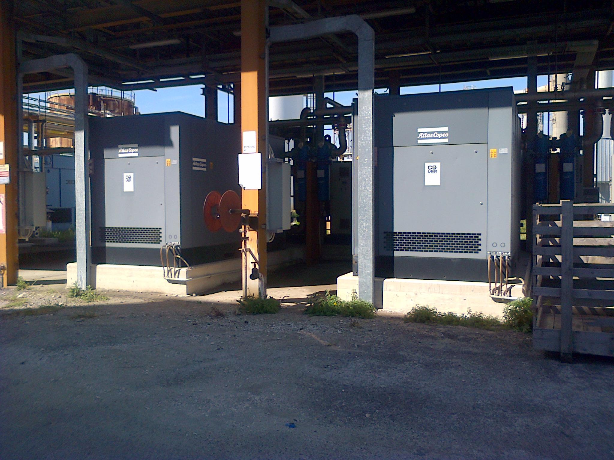 Acof compressors Atlas Copco